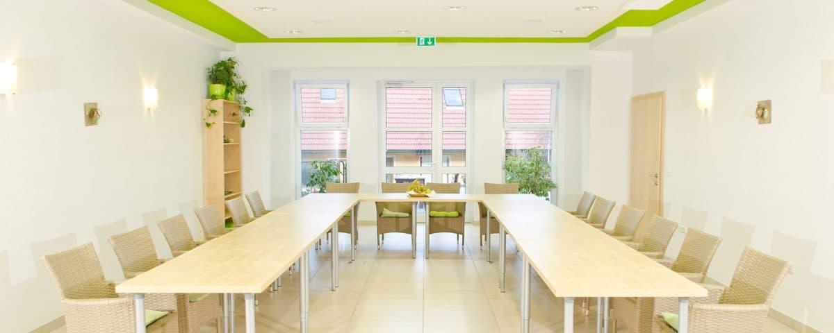 Seminarraum in unserem Seminarhotel in der Oststeiermark