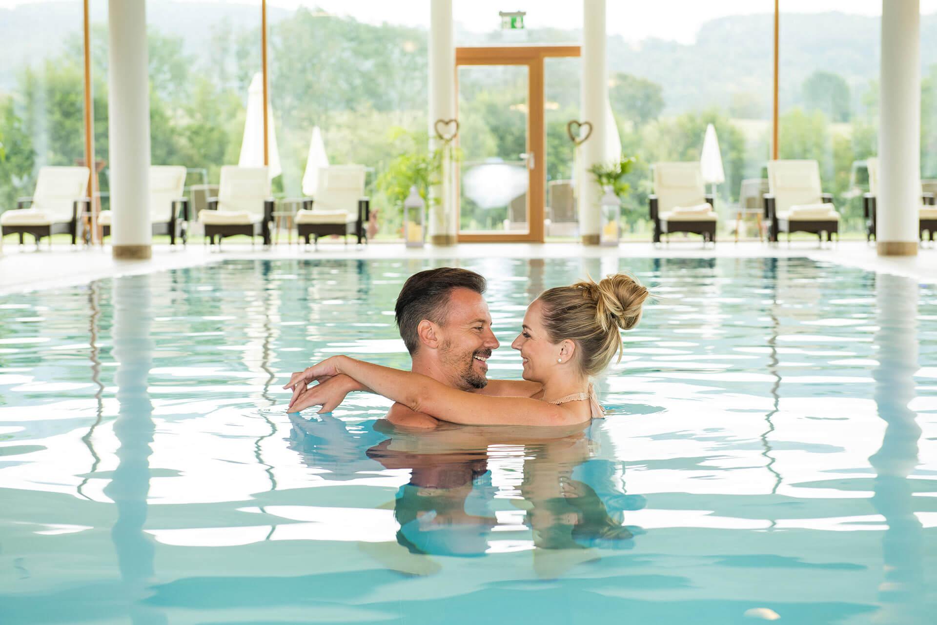 Erholung und Entspannung für Erwachsene: Das bietet das Wellnesshotel Grüne Au in der Oststeiermark.