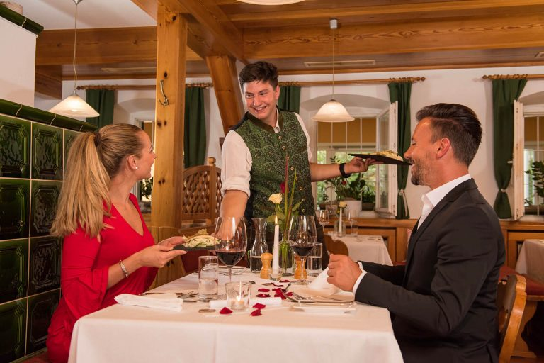 Candle Light Dinner in der Steiermark