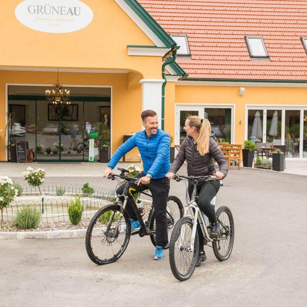Fahrrad fahren in der Oststeiermark