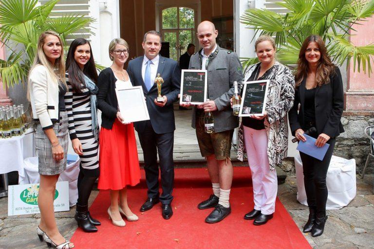 Awardverleihung moments-Award der steirische Top-Betriebe