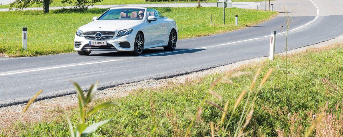 Cabrio fahren im Pöllauer Thal